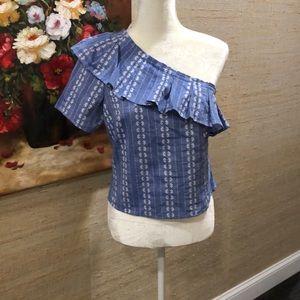 New🌸splendid one shoulder blouse